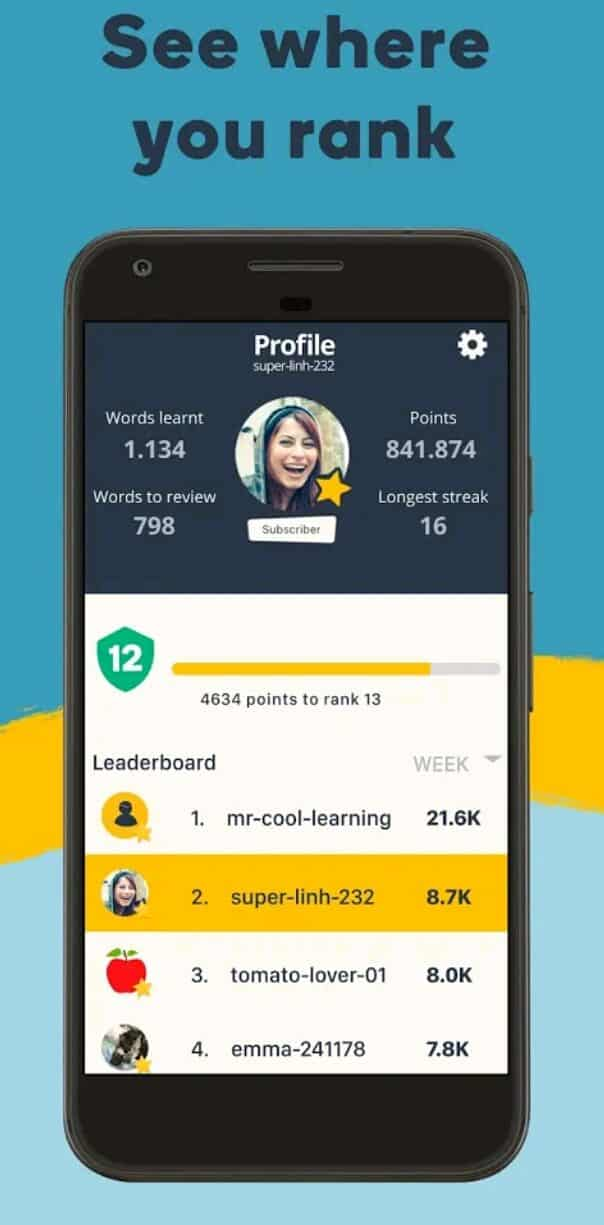 Memrise Mod Apk Download free for android Latest Updated Version 2021 5