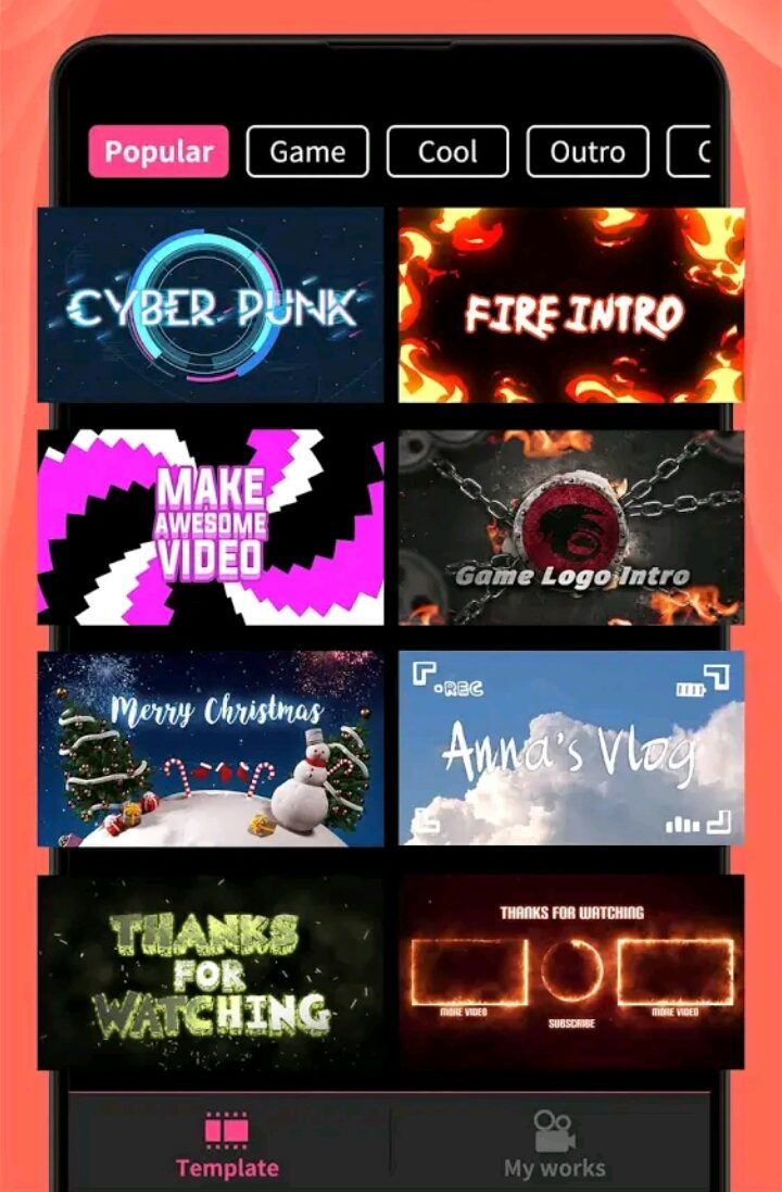 Intro Maker Apk V3.5.2 (Mod, Vip Unlocked, Without Water Mark) 3