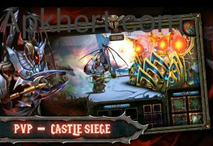 Epic Heroes War Mod Apk For Androids(Money, Crystals): 4