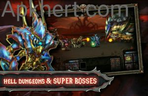 Epic Heroes War Mod Apk For Androids(Money, Crystals): 3