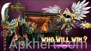Epic Heroes War Mod Apk For Androids(Money, Crystals): 1