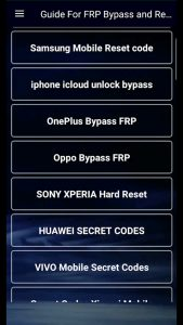 FRP Bypass Apk Download Latest Version Free For Android 2