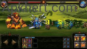Epic Heroes War Mod Apk For Androids(Money, Crystals): 2